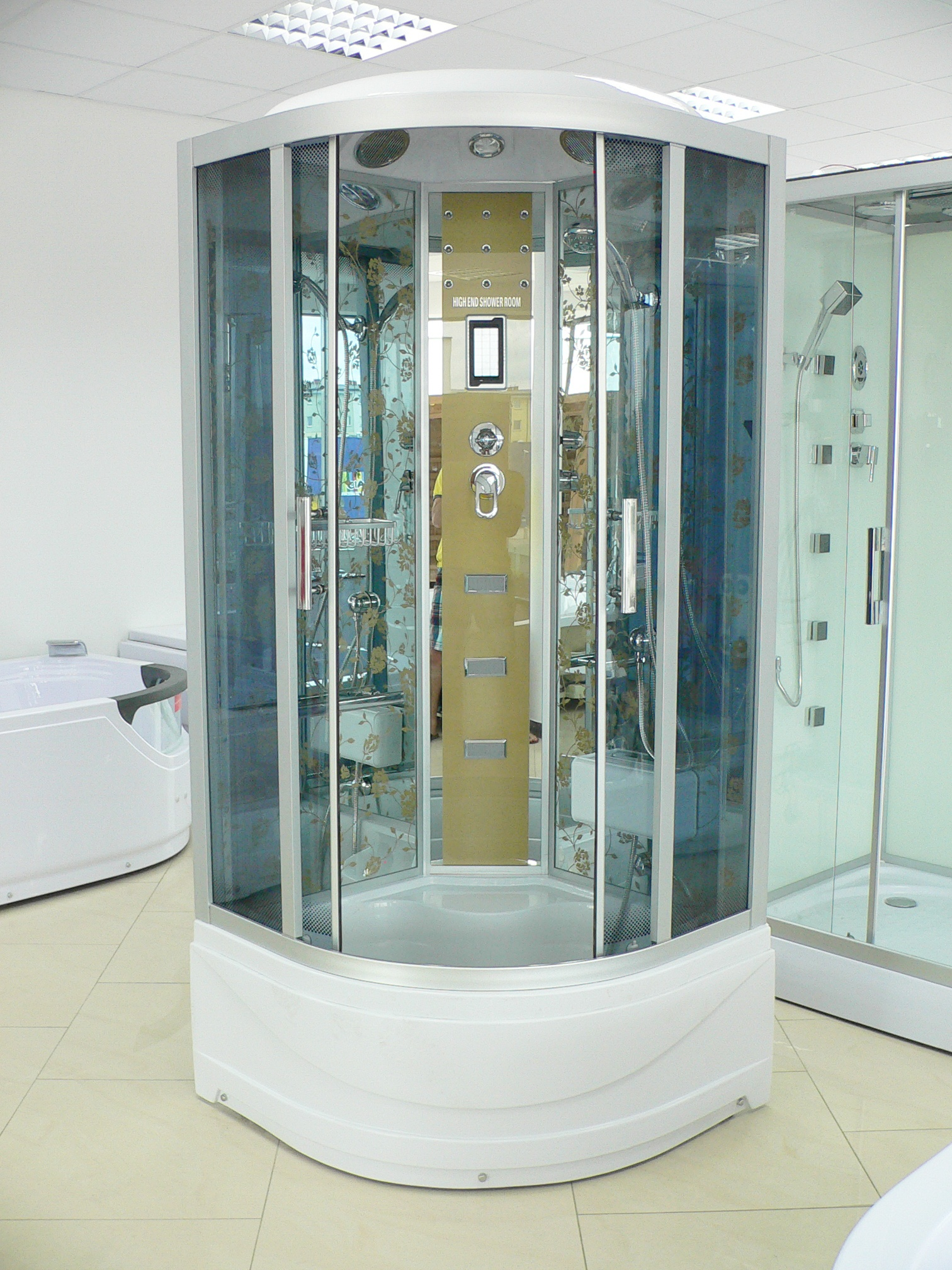 Treg K13 Kabina prysznicowa z hydromasażem 100cm x 100cm