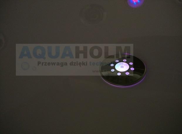 Aquaholm LS-7001 + P 170cm x 120cm x56cm PODGRZEWACZ WODY, BLUETOOTH, WERSJA LEWA