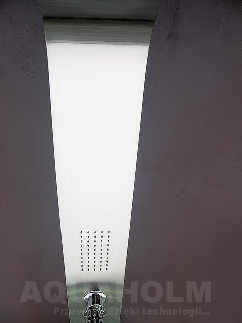 Aquaholm panel prysznicowy z hydromasażem, wymiary 165cm x 12cm, model 056