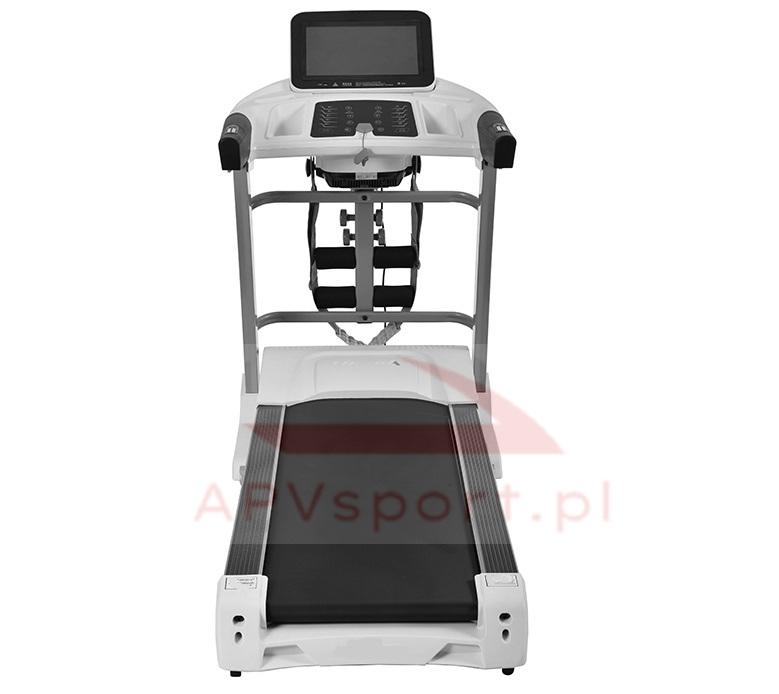 Bieżnia do biegania i chodzenia APV680, ekran LCD 7 cali, pas biegowy 135x48cm