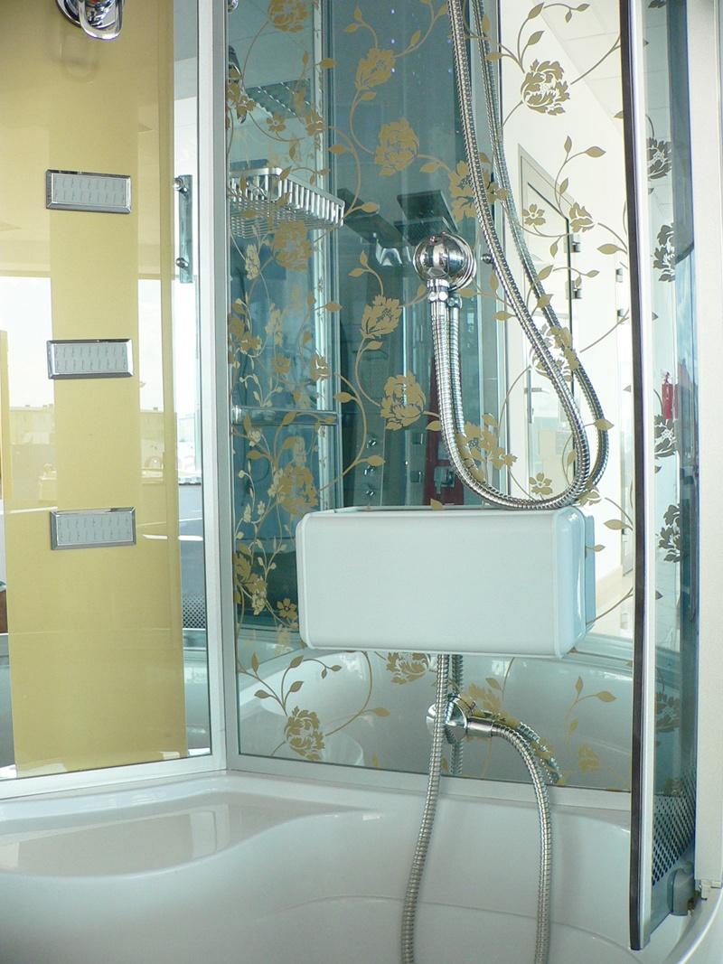 Treg K14 Kabina prysznicowa z hydromasażem 100cm x 100cm Z SAUNĄ NOWOŚĆ!