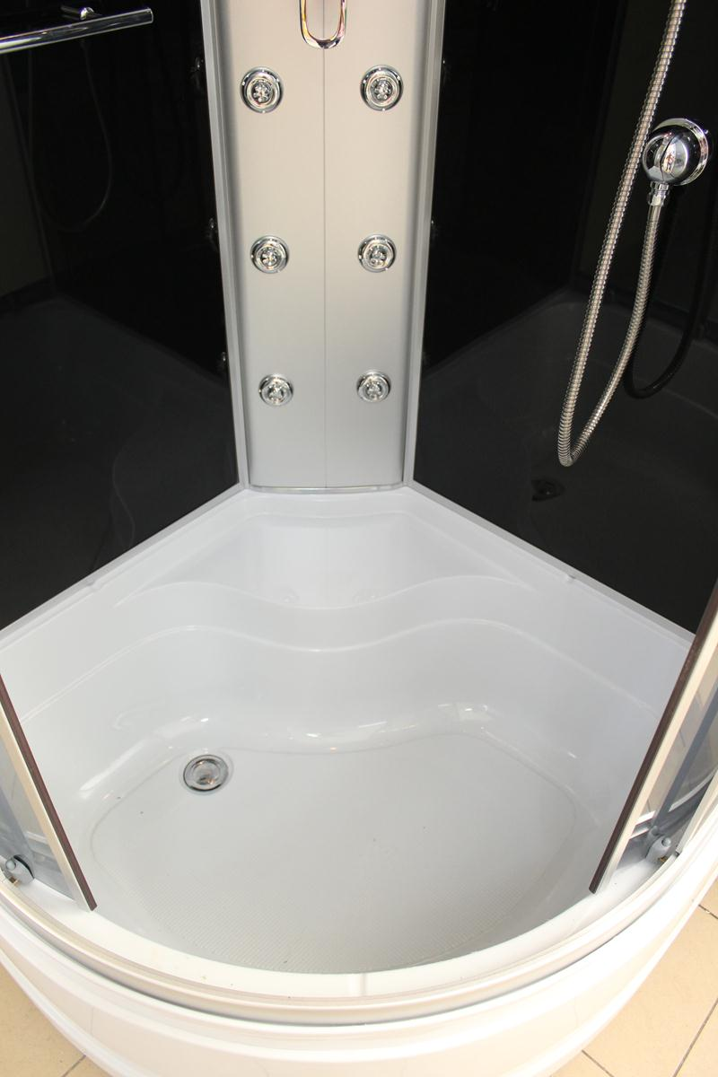 Treg K04 Kabina prysznicowa z hydromasażem 100cm x 100cm 6 DYSZ