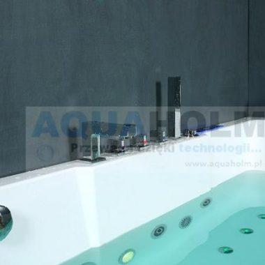 Aquaholm CLF-3133 170cm x 80cm x 59cm wersja LEWA + RAMA NA SZYBIE + PODGRZEWACZ WODY