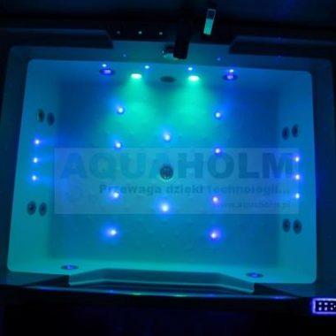 Aquaholm C-3099 170cm x 120cm x 59cm PODGRZEWACZ WODY, BLUETOOTH, AKTYWNA SŁUCHAWKA PRYSZNICOWA PREMIUM LIMITED!